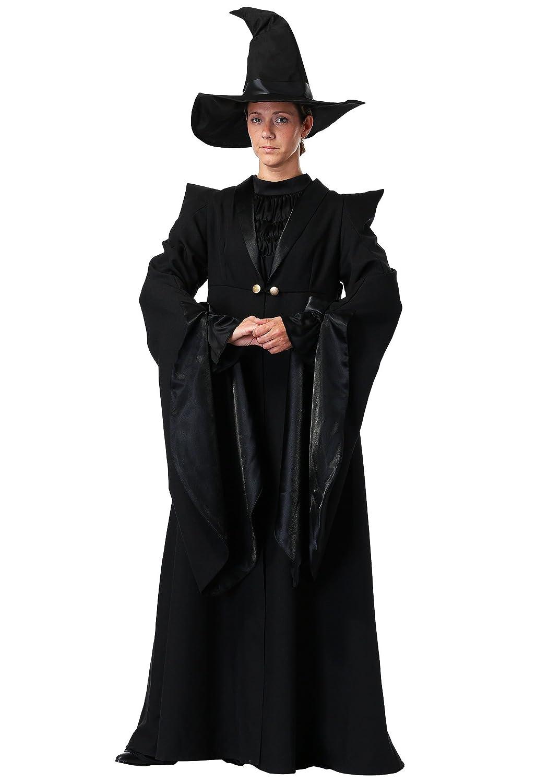 Charades Deluxe Professor McGonagall Adult Fancy Dress Costume  L