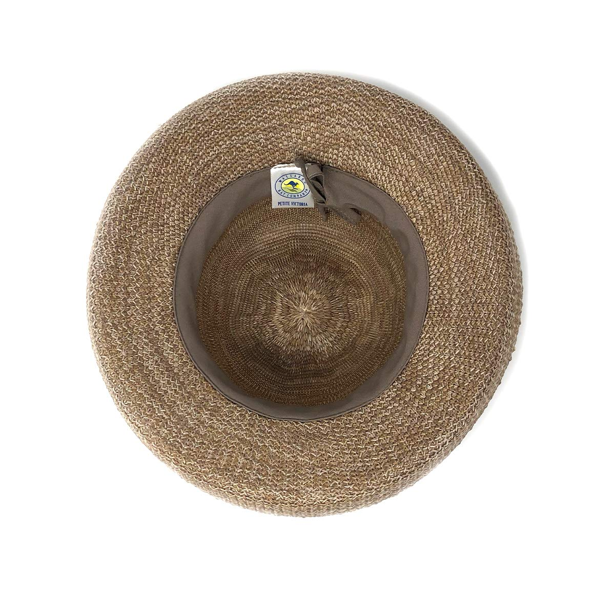 Wallaroo Hat Company Women's Petite Victoria Sun Hat - Mixed Camel - Packable, Modern Style, Petite Size, Designed in Australia. by Wallaroo Hat Company (Image #4)