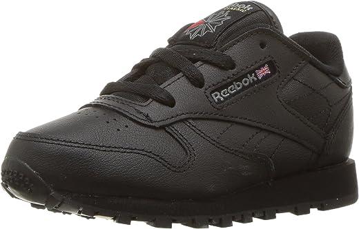 حذاء رياضي جلدي كلاسيكي للرضع/الأطفال من ريبوك، أبيض، 0 أطفال