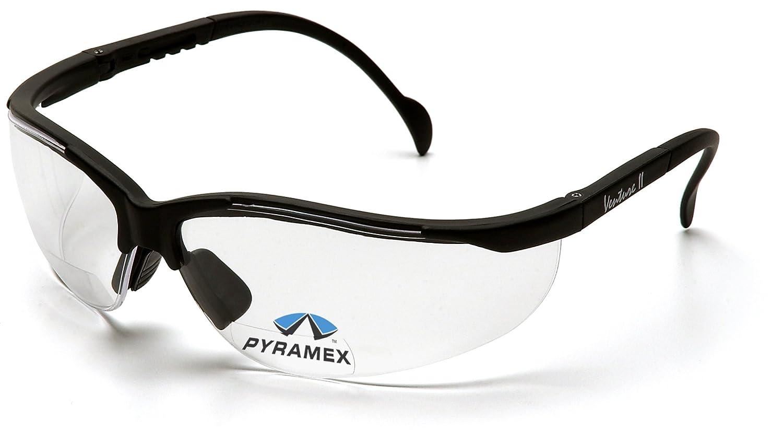 Pyramex Safety V2 Readers SB1810R30 - Occhiali protettivi con lenti da lettura trasparenti integrate, ingrandimento +3.0 V2 ReadersTM