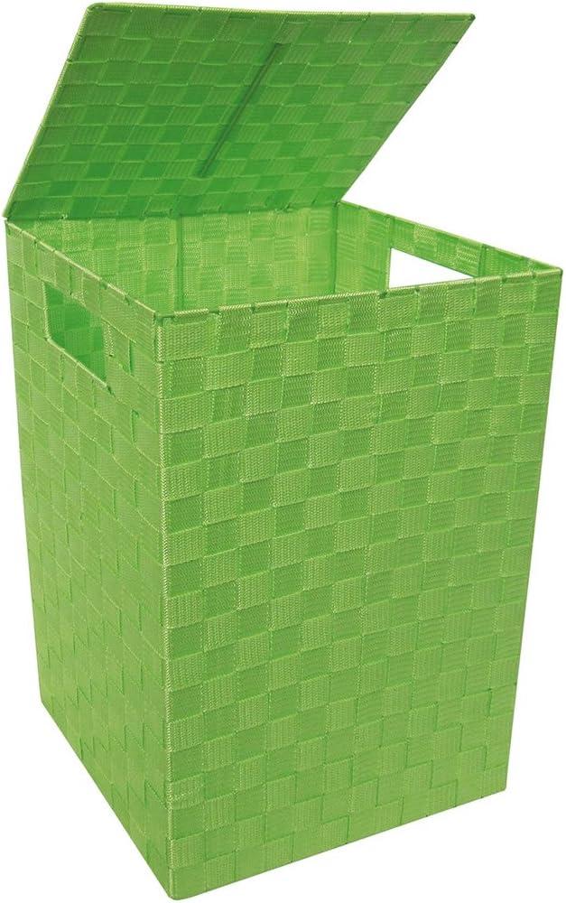Verde Laroom Cesta Ropa