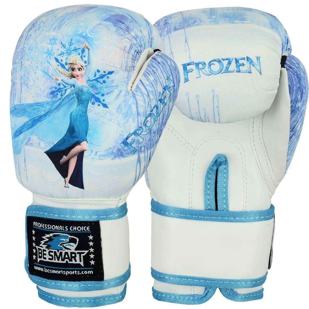 La Reine des neiges enfants Gants de gants de boxe Junior 113,4/gram 170,1/gram Sac de frappe enfant MMA Youth