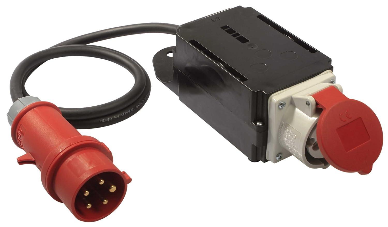 as - Schwabe 60740 MIXO Start Einschaltstrombegrenzer 400V / 16A, IP44 Gewerbe, Baustelle