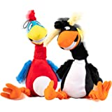 Pet Craft Supply Jiggle Giggle Funny Giggling Sound Wiggly Shaking Tug Fetch Soft Chew Plush Dog Toy