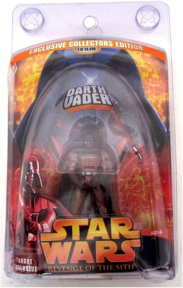 Star Wars Revenge of the Sith Target Exclusive Lava Darth Vader 1 0f 50000 by Hasrbo