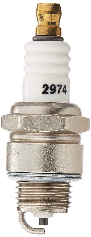Autolite 2974 Bujía Bantam parte superior, chapado en níquel Shell, lado corto electrodo (4 unidades): Amazon.es: Coche y moto