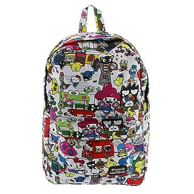 364e186ee62f33 Amazon.com   Loungefly Hello Kitty Sanrio Backpack Multi   Casual ...