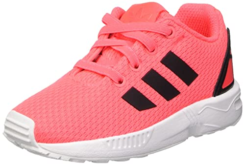 get cheap release date detailed pictures adidas Unisex-Baby 0-24 ZX Flux I Sneaker, Rosa (Flared ...