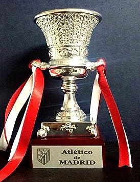 4de8e1367ed3c Trofeo SuperCopa Atletico de Madrid Replica 15cm GRABADO Trofeos  PERSONALIZADOS Futbol coleccionistas SuperCopa de España Titulos Atletico  de Madrid Super ...