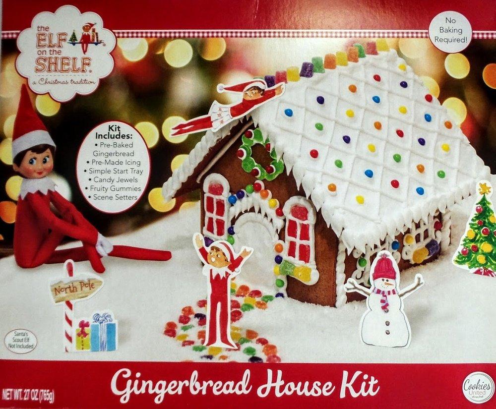Premade Gingerbread Houses Amazoncom The Elf On The Shelf An Elfs Story Christmas
