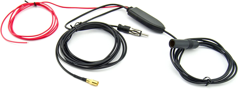 Dab Antennenadapter Splitter Verteiler Für Auto Kfz Smb Dab Anschluss Elektronik