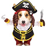 Halloween Pirate Dog Pet Costume For Halloween Dress-up Party, Role Play, Carnival Cosplay, Holiday Decorations Clothes