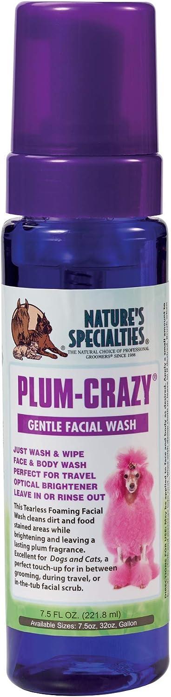 Nature's Specialties Plum-Crazy Foaming Facial Wash for Pets