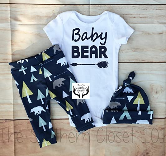 560612e44 Amazon.com  Baby boy Coming Home Outfit Boys Clothing Clothes ...