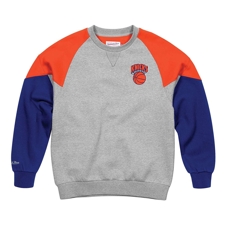 Mitchell and Ness Camiseta de Baloncesto Knicks Hombre - Cuello ...
