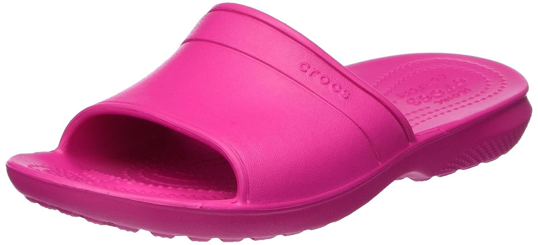 Crocs Classic Slide, Sandali a Punta Aperta Unisex-Adulto Rosa (Candy Pink)