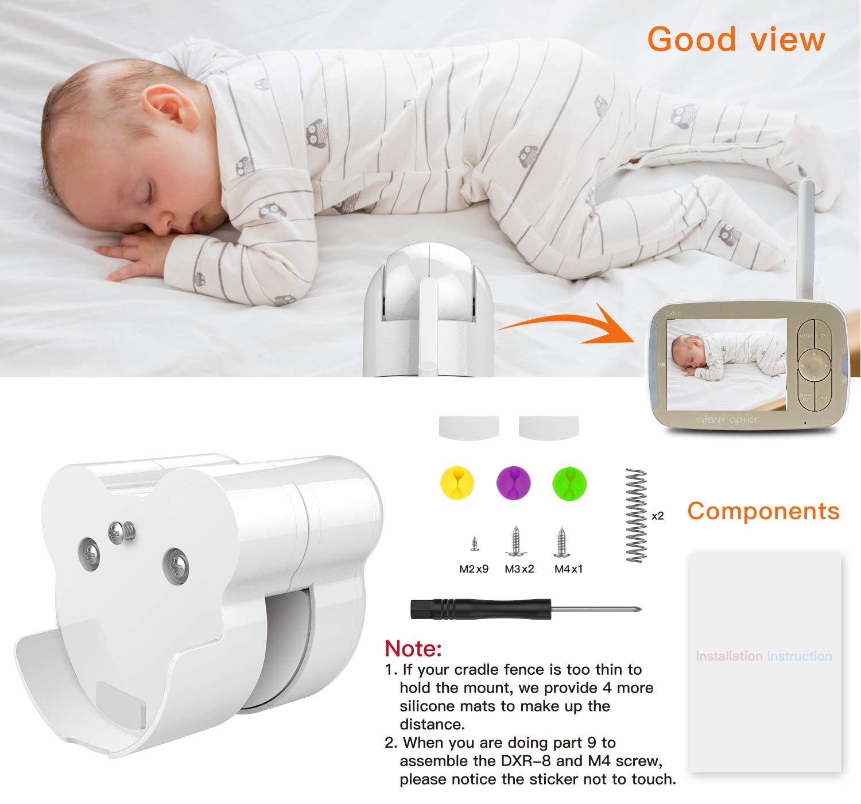 Baby Monitor Mount Bracket for Infant Optics DXR-8 Baby Monitor ...