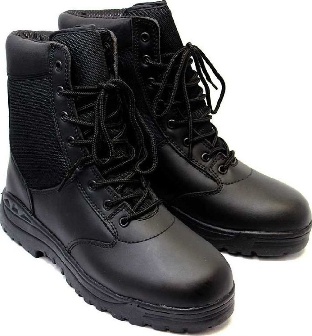 Tactical Boots 8'' Black Military Security Emt Ems Tactical Boots