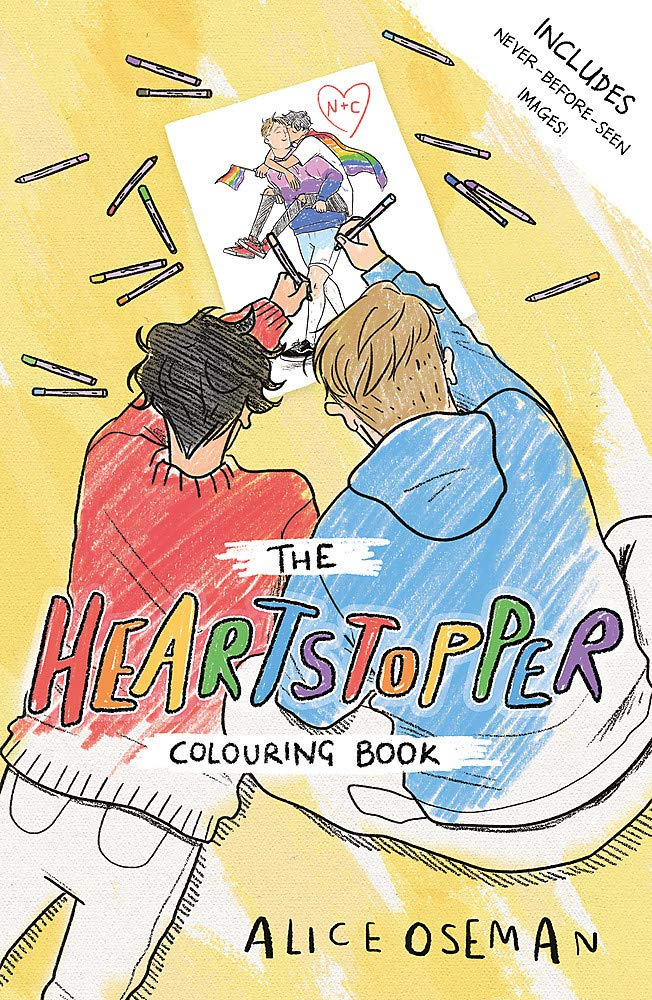 The Heartstopper Colouring Book: Amazon.co.uk: Oseman, Alice ...