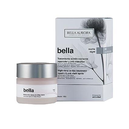 Bella Aurora Bella Crema Facial Noche Anti-Arrugas y Anti-Edad para Mujer Tratamiento