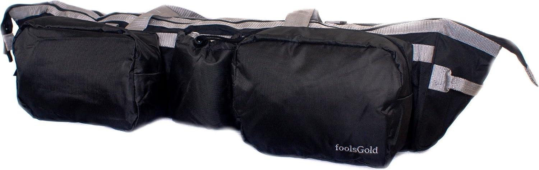 foolsGold Dual Yoga Mat Bag with Pockets - 30