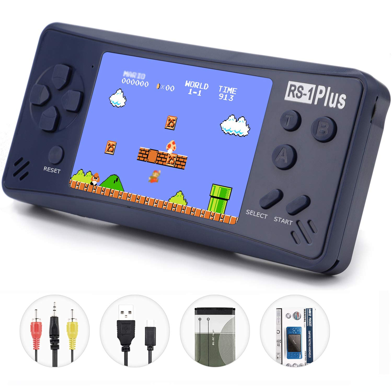 Game Consoles For Kids >> Amazon Com X Joykids Handheld Game Console For Kids Adults Rs 1