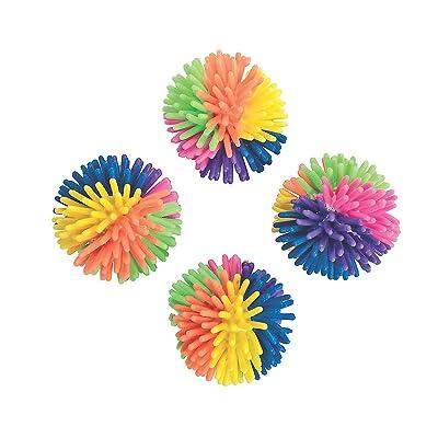 Fun Express - Multicolor Porcupine Balls (3dz) - Toys - Balls - Porcupine & Noodle Balls - 36 Pieces: Toys & Games