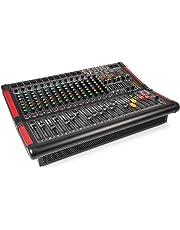 Power Dynamics PDA-S1604A mesa de mezclas de 16 canales con amplificador integrado (2x350