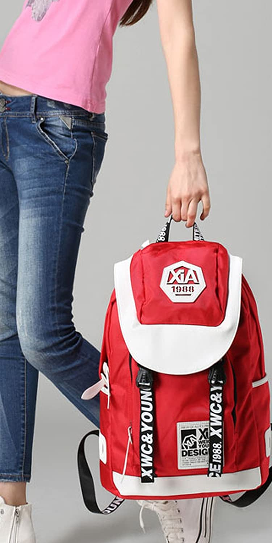 Keshi Nylon Fashion Backpack Bag, Fashion Cute Lightweight Backpacks for Teen Young Girls
