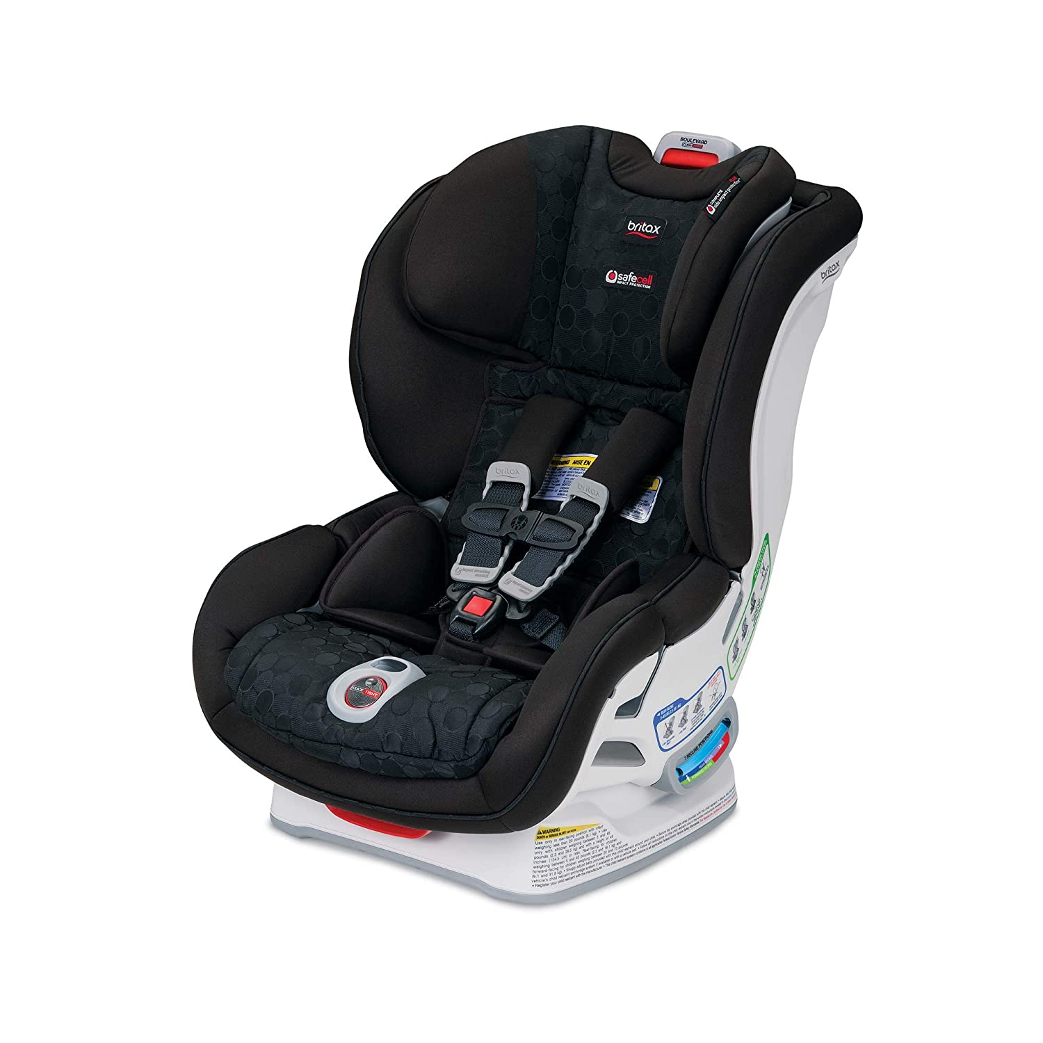 Amazon Britax USA Boulevard ClickTight Convertible Car Seat Circa Baby