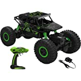 AJUDIYA ENTERPRISE 1:18 Rechargeable 4Wd 2.4GHz Rock Crawler Off Road R/C Car Monster Truck Kids Toys | Remote Control Cars for Kids (Random Colour)