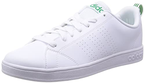 adidas Advantage Clean VS - Zapatillas para Hombre, Color Blanco/Verde, Talla 36 2/3: Amazon.es: Zapatos y complementos
