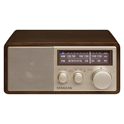 Sangean WR-11BT - Radio FM/Am con Bluetooth, Madera de Nogal ...