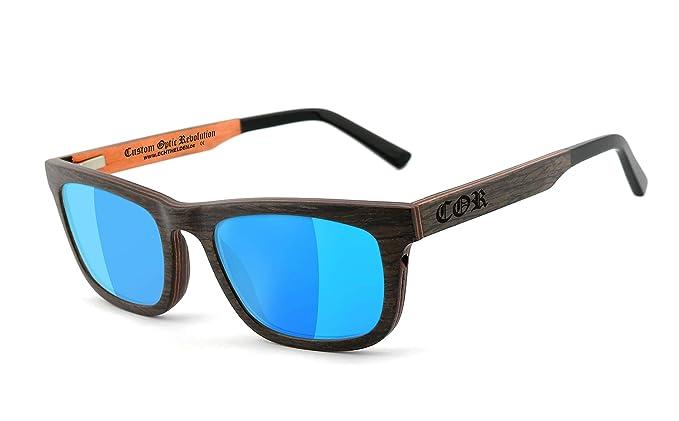 COR - Gafas de sol - para hombre Negro Braun, Kupfer Talla ...