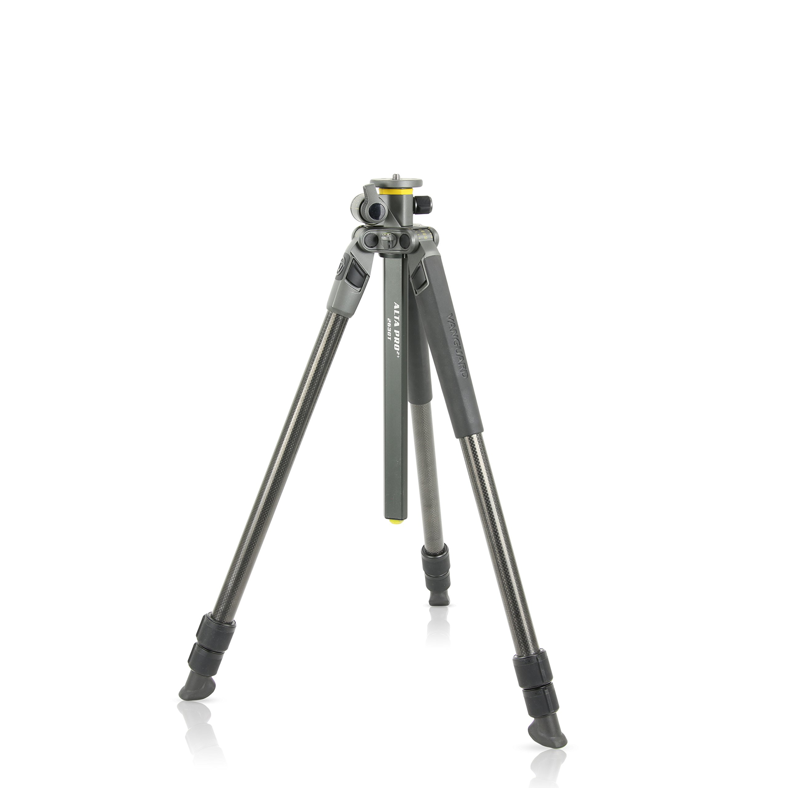 Vanguard Alta Pro 2+ 263CT Carbon Fiber Tripod with Multi-Angle Center Column for Sony, Nikon, Canon DSLR Cameras
