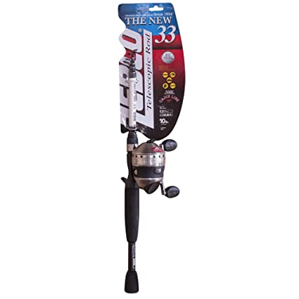 Amazon.com: Zebco 33 Telecast Combo, 6-Feet: Sports & Outdoors