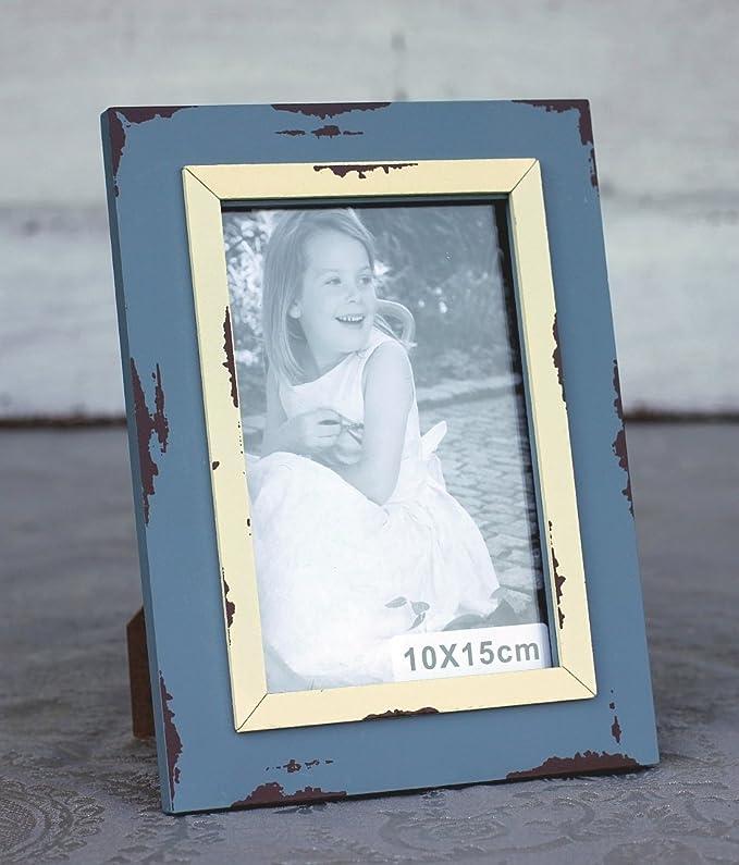 Amazon.de: condecoro Bilderrahmen Nilde Shabby Vintage Fotorahmen ...