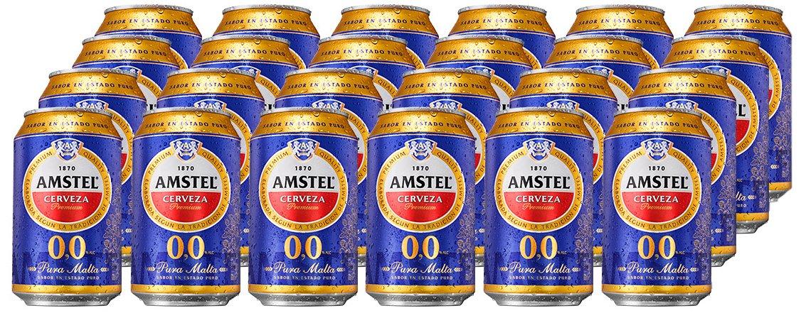 Amstel 00 Cerveza - Caja de 24 Latas x 330 ml - Total: 7.92 L: Amazon.es: Amazon Pantry