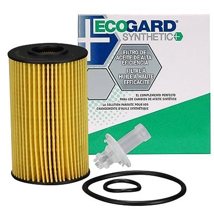 Amazon com: ECOGARD S5702 Cartridge Engine Oil Filter for