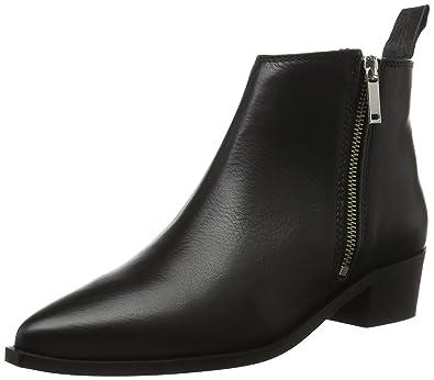 Shoe Biz Damen Shoort Boot Kurzschaft Stiefel, Schwarz (Velvet Black), 36 EU