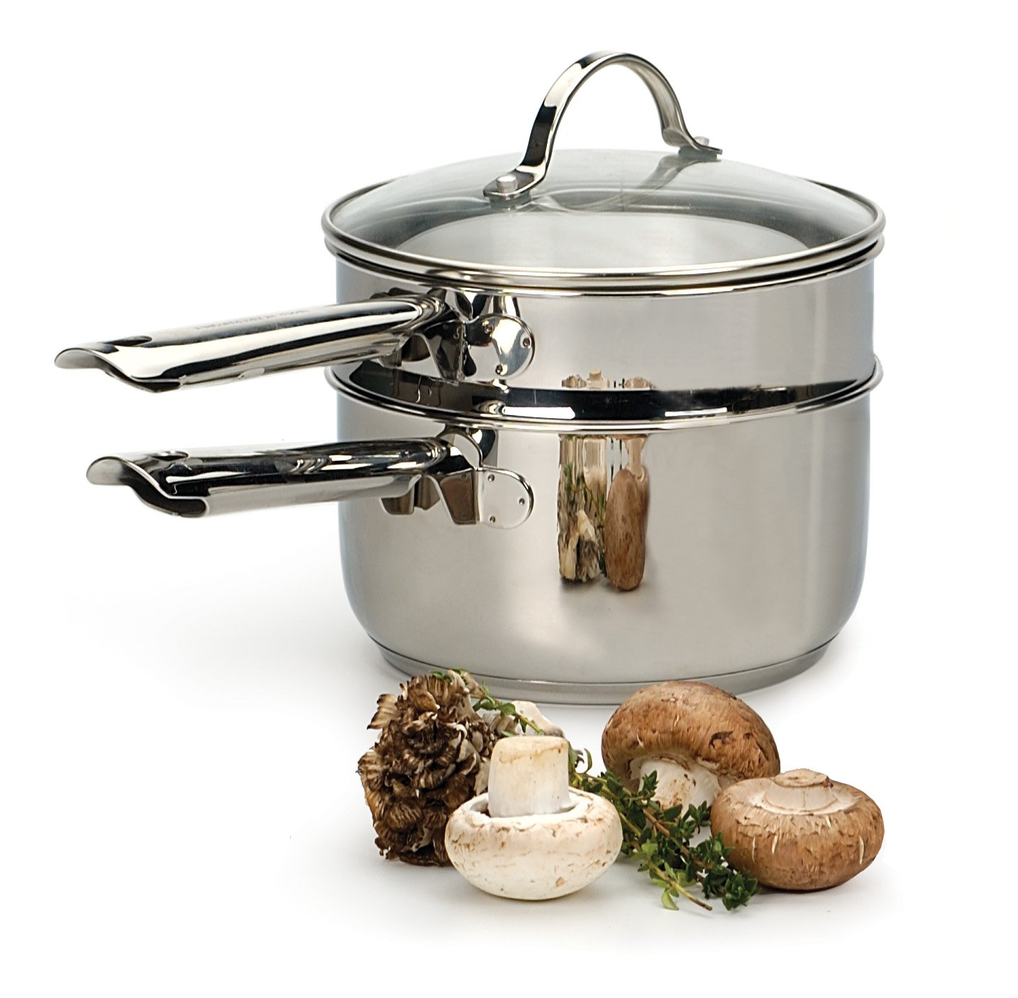 RSVP Endurance 2-Quart Stainless Steel Induction Double Boiler by RSVP International (Image #3)