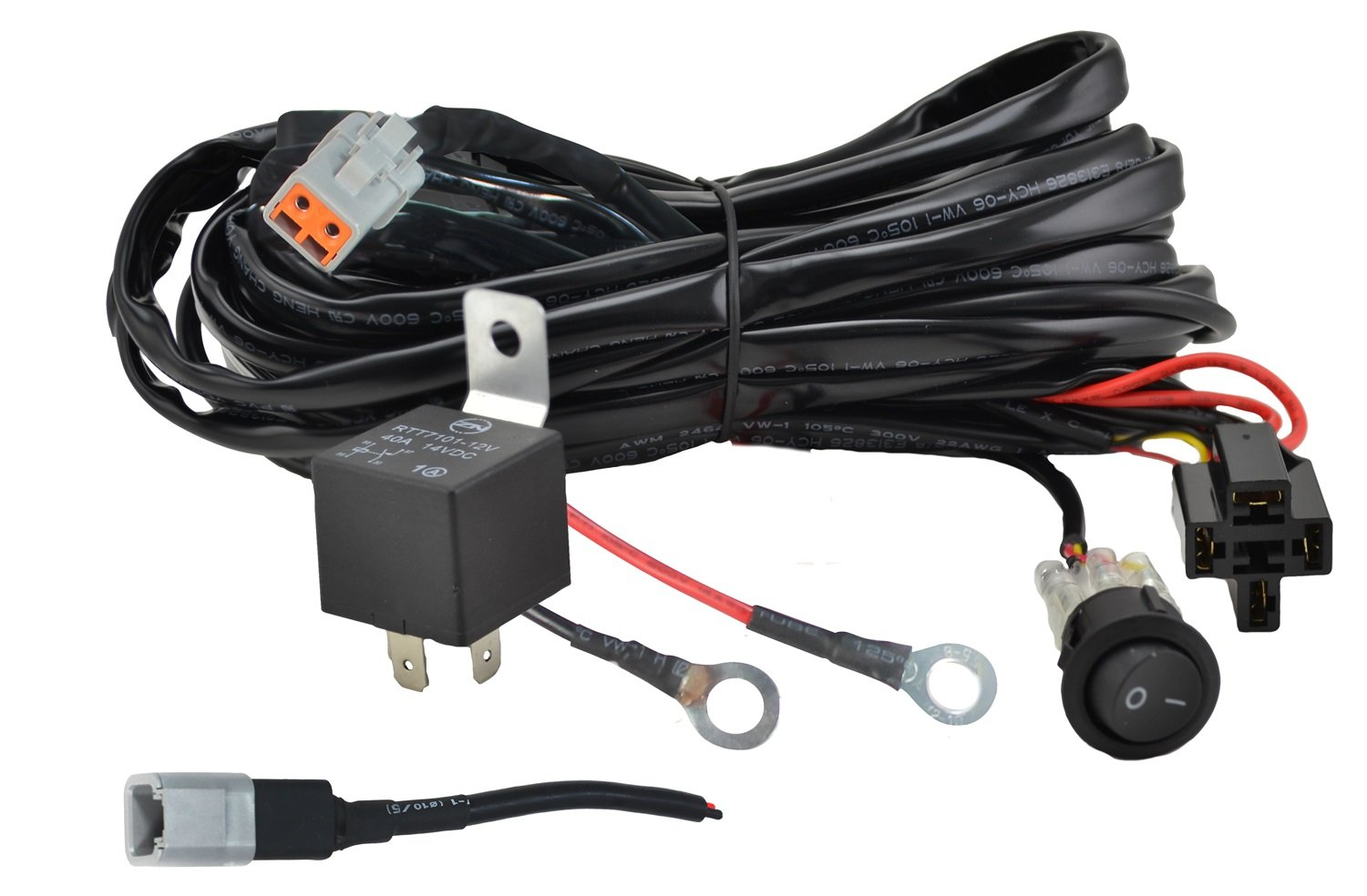 Well Wreapped Hella H84131151 Value Fit Single Light Wiring Harness 2007 Lexus Is250