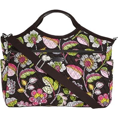 Vera Bradley Carryall Travel Bag (Moon Blooms)