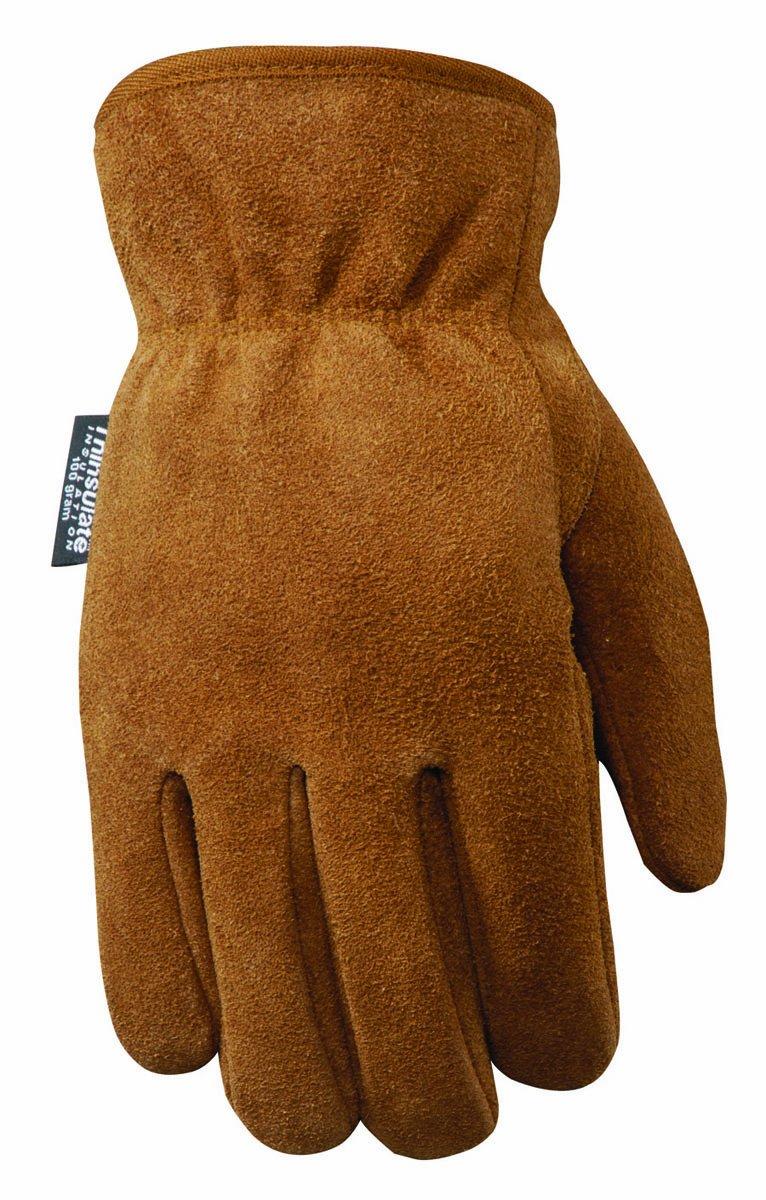 Amazon.com : Wells Lamont 1060L Men\'s Split Cowhide Lined Leather ...