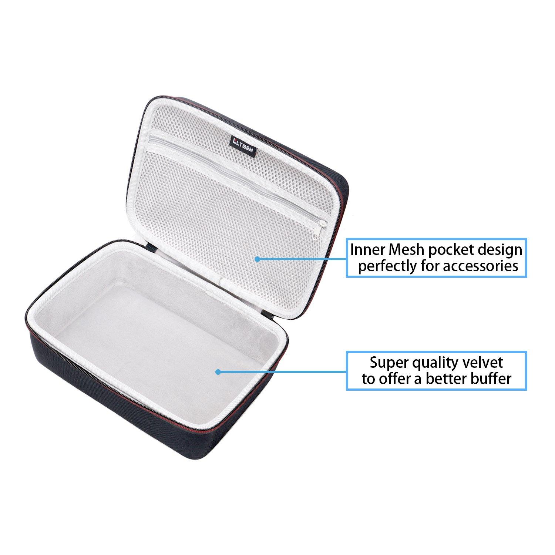LTGEM EVA Hard Case for Blusmart LED-9400 Video Projector 2018 Upgraded +70% Brightness Portable Mini Projector - Travel Protective Carrying Storage Bag by LTGEM (Image #4)