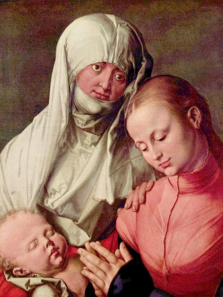 Lais Puzzle Albrecht Dürer - Madonna col Bambino e Sant'Anna 2000 Pezzi