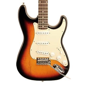 Diente de Sierra hecho a mano americana es Classic guitarra eléctrica con verde menta golpeador y ChromaCast carcasa rígida: Amazon.es: Instrumentos ...