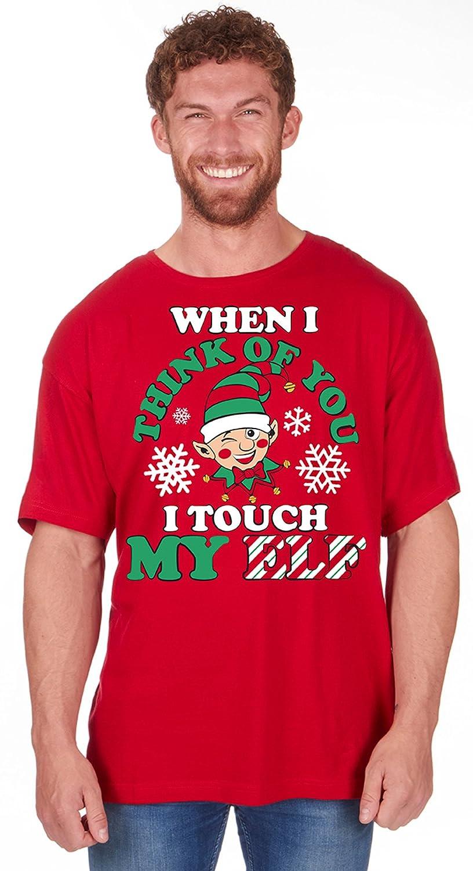 8b7c3ec4 Mens Christmas Novelty Print T Shirt Explicit Top Funny Rude Joke | Xmas  Gift: Amazon.co.uk: Clothing
