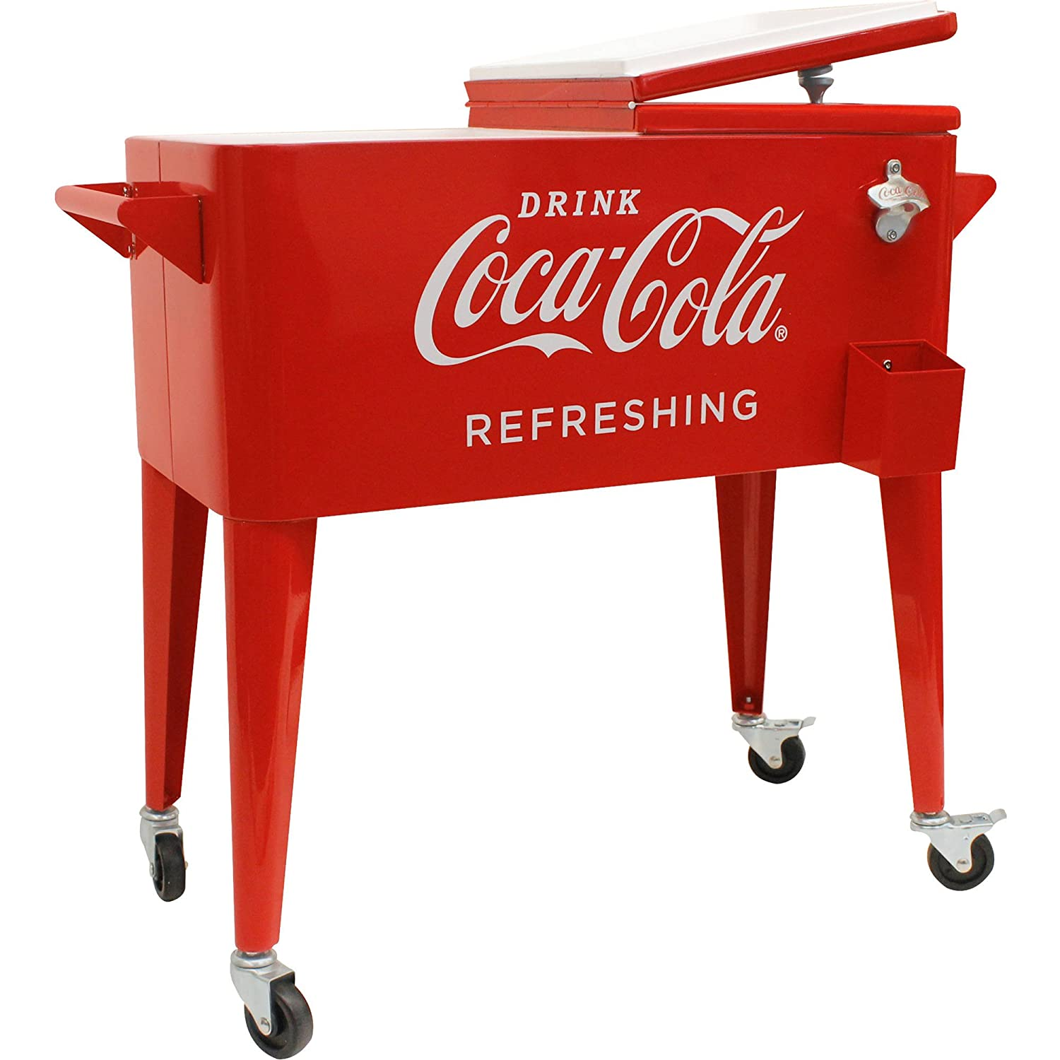 80-quart Retro Coca-Cola cooler34; refreshing34;: Amazon.es ...