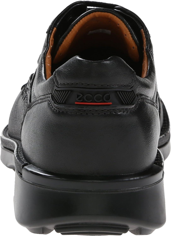 Ecco Fusion Black Herren Derby Schnürhalbschuhe, Schwarz (BLACK00101), 47